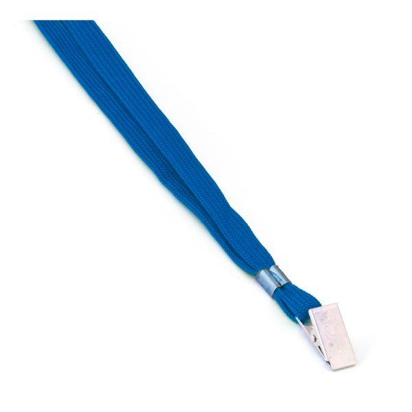 Връзка за бадж с щипка MAS, модел 3540, синя
