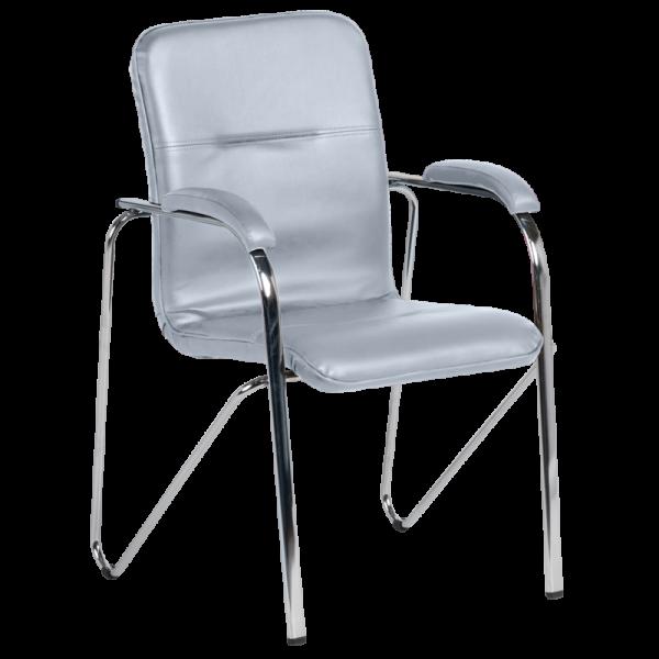Посетителски стол Samba D - Сив
