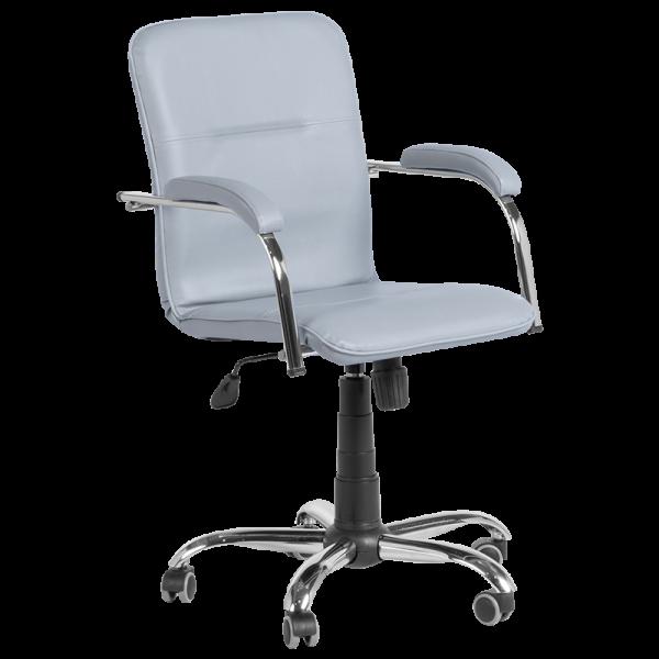 Работен Офис стол SAMBA RC-D - Светло сив