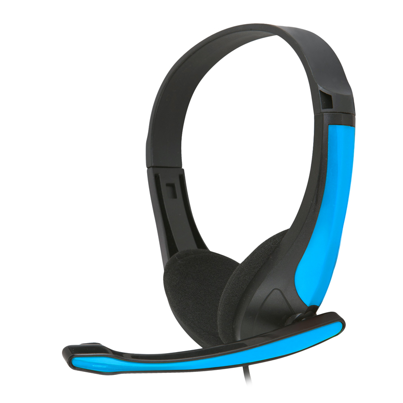 Freestyle стерео слушалки с микрофон FH-4088 сини