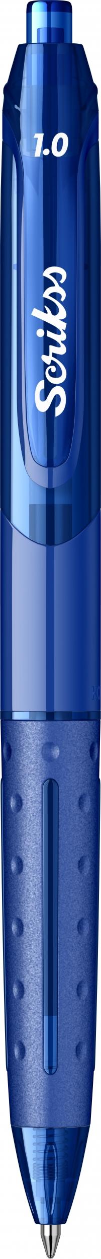 Гел химикалка Scrikss 1.0, модел 53390, Хубрид Синьо