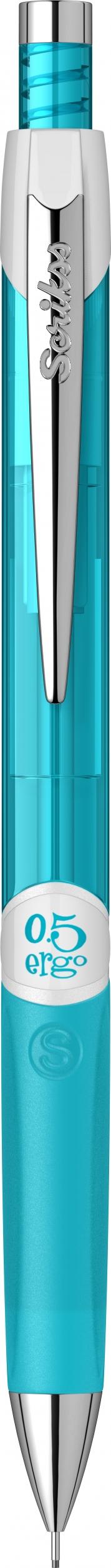 Механичен молив Ergo Scrikss 0,5мм., модел 72124, , Неон Син