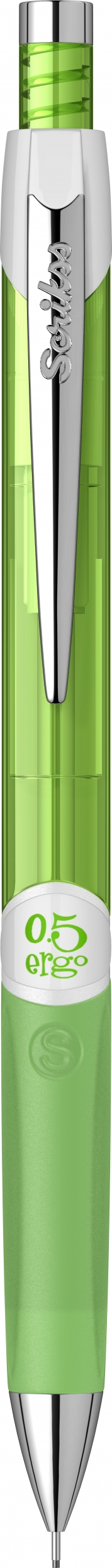 Механичен молив Ergo Scrikss 0,5мм., модел 72131, , Неон Зелен