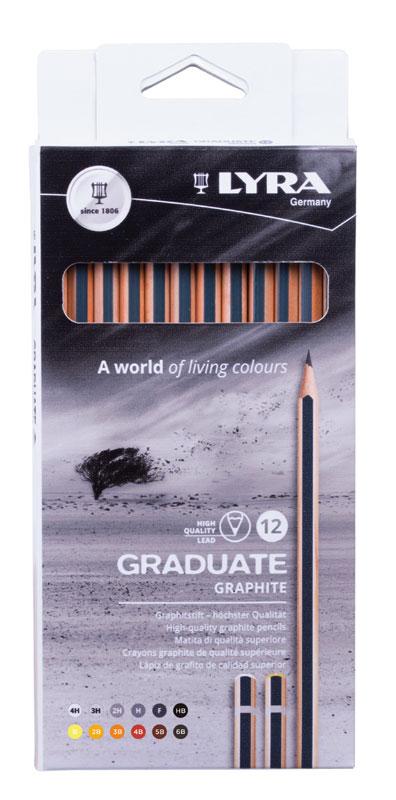 Графит Lyra Graduate 12  броя