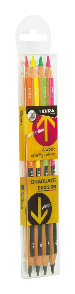 Моливи Lyra Graduate Duo  4бр