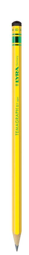 Графитен молив LYRA TEMAGRAPH  в картонена кутия 12 бр - B