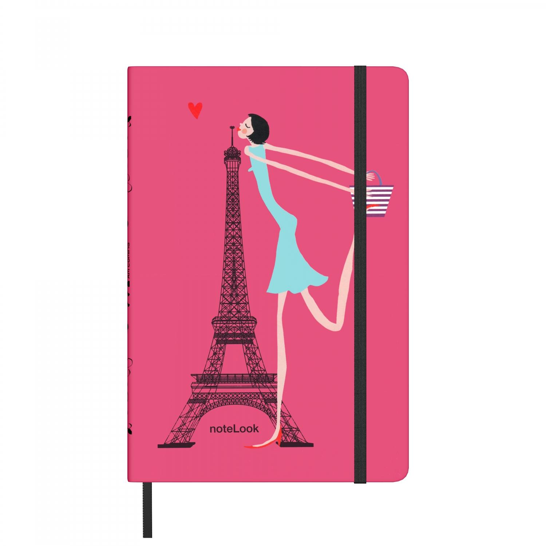 Бележник Scrikss Notelook  I Love Paris, модел 65898, W/L,   A5