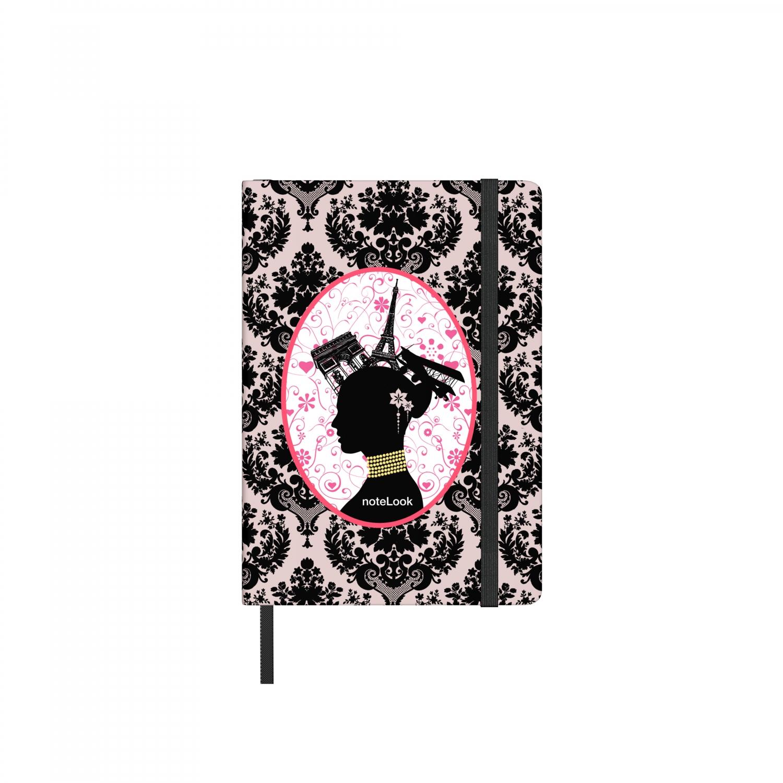 Бележник Scrikss Notelook Black Velvet, модел 65812, W/L A6