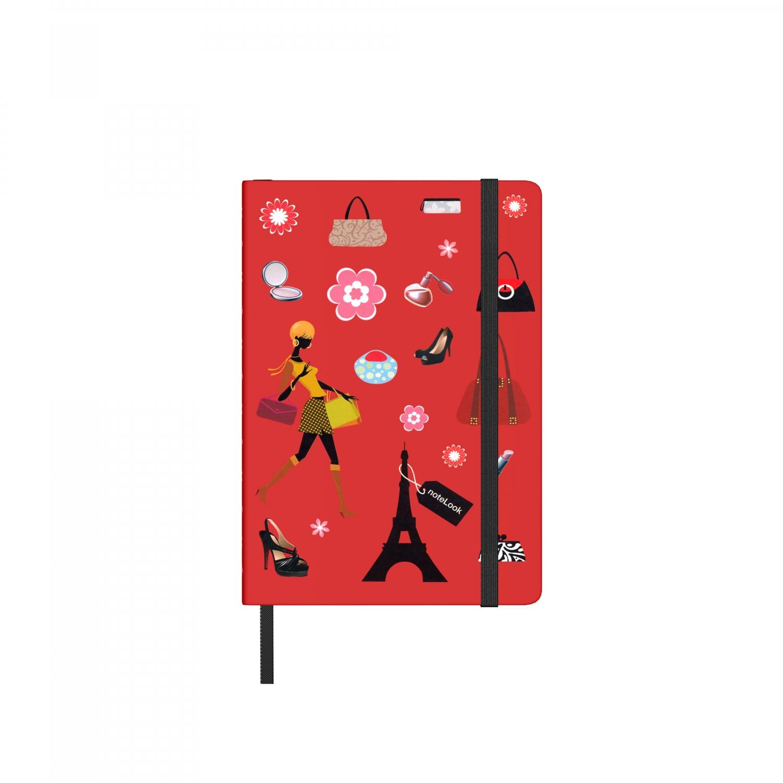 Бележник Scrikss Notelook I Love Shopping W/L, модел 65843,   A6