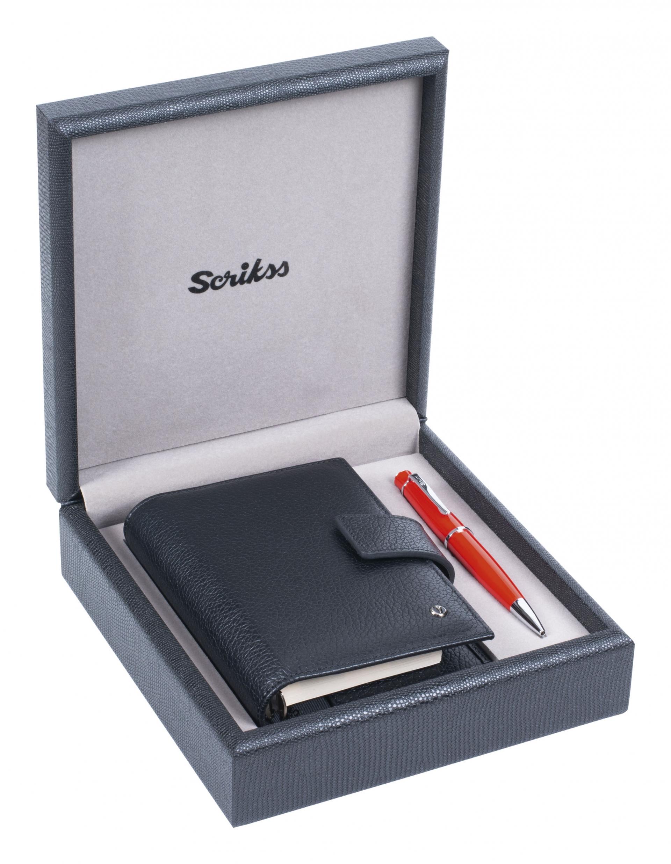 Подаръчен комплект 62 Chic Red & Leather Pocket Organizer Black SDR 306, модел 79321