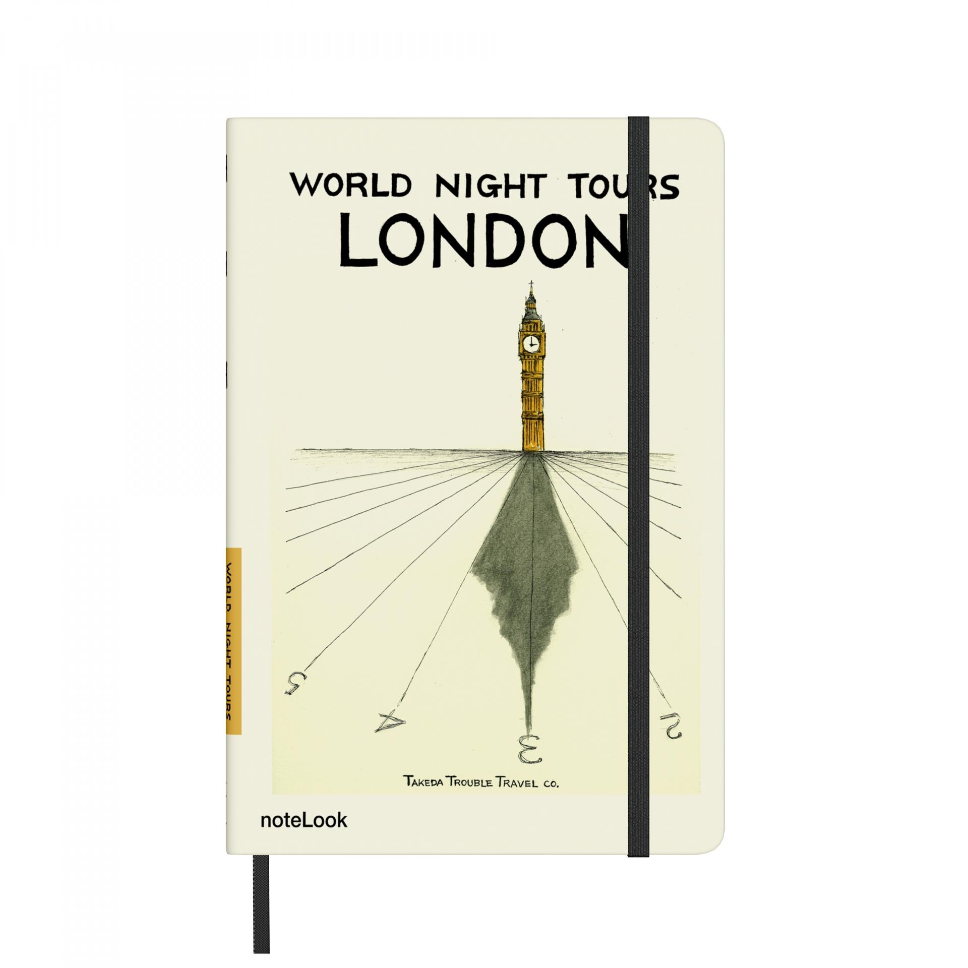 Бележник Scrikss Notelook Notebook  Takeda London Lined, модел 72711,  A5
