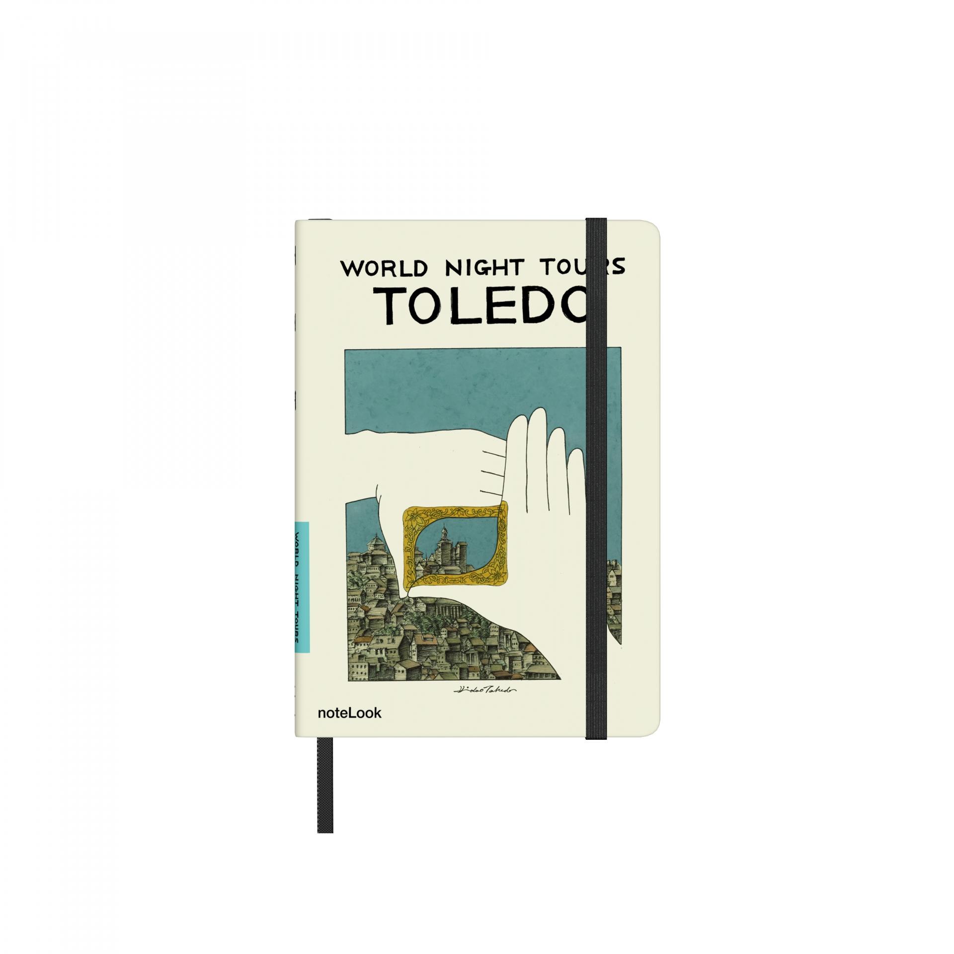 Бележник Scrikss Notelook Takeda  Toledo, модел 72834,    A6