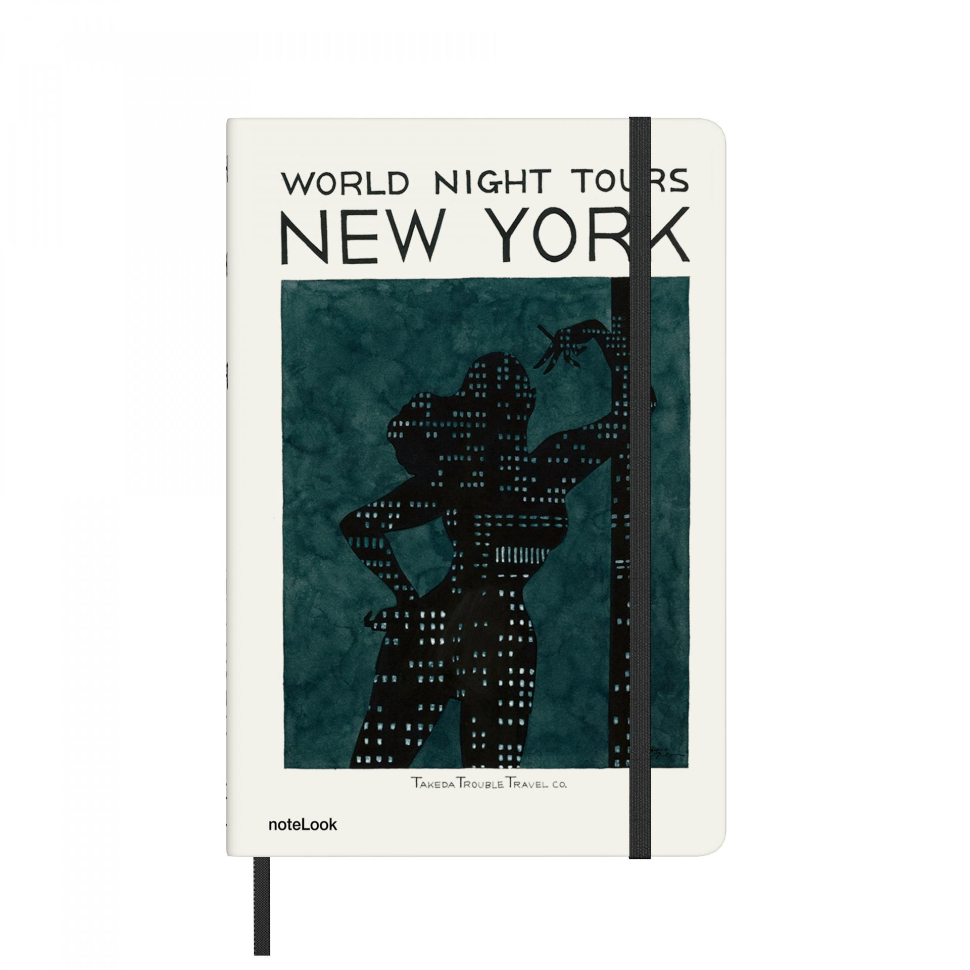 Бележник Scrikss Notelook Notebook Takeda New York Striped, модел 77174,   A5