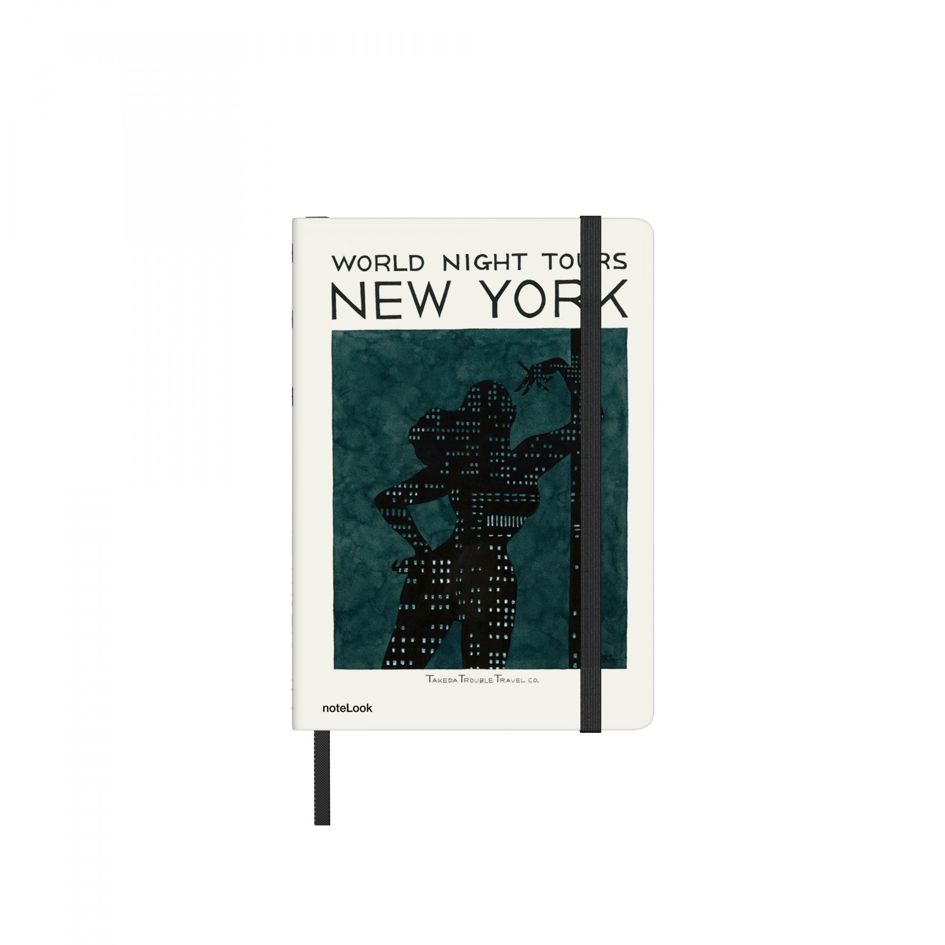 Бележник Scrikss Notelook Notebook Takeda New York Striped, модел 77259,   A6
