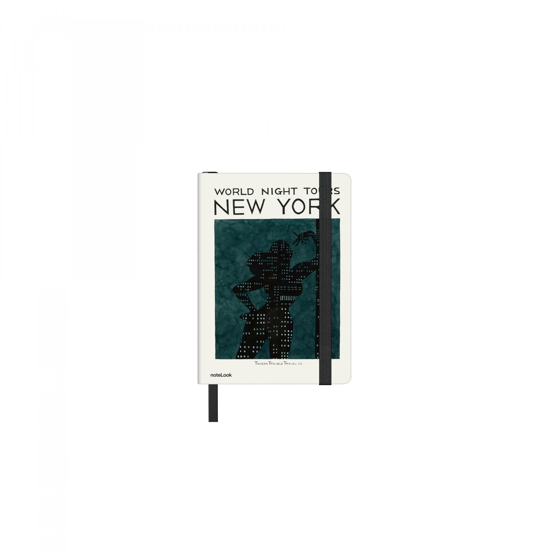 Бележник Scrikss Notelook Notebook Takeda New York Striped, модел 77334,   A7