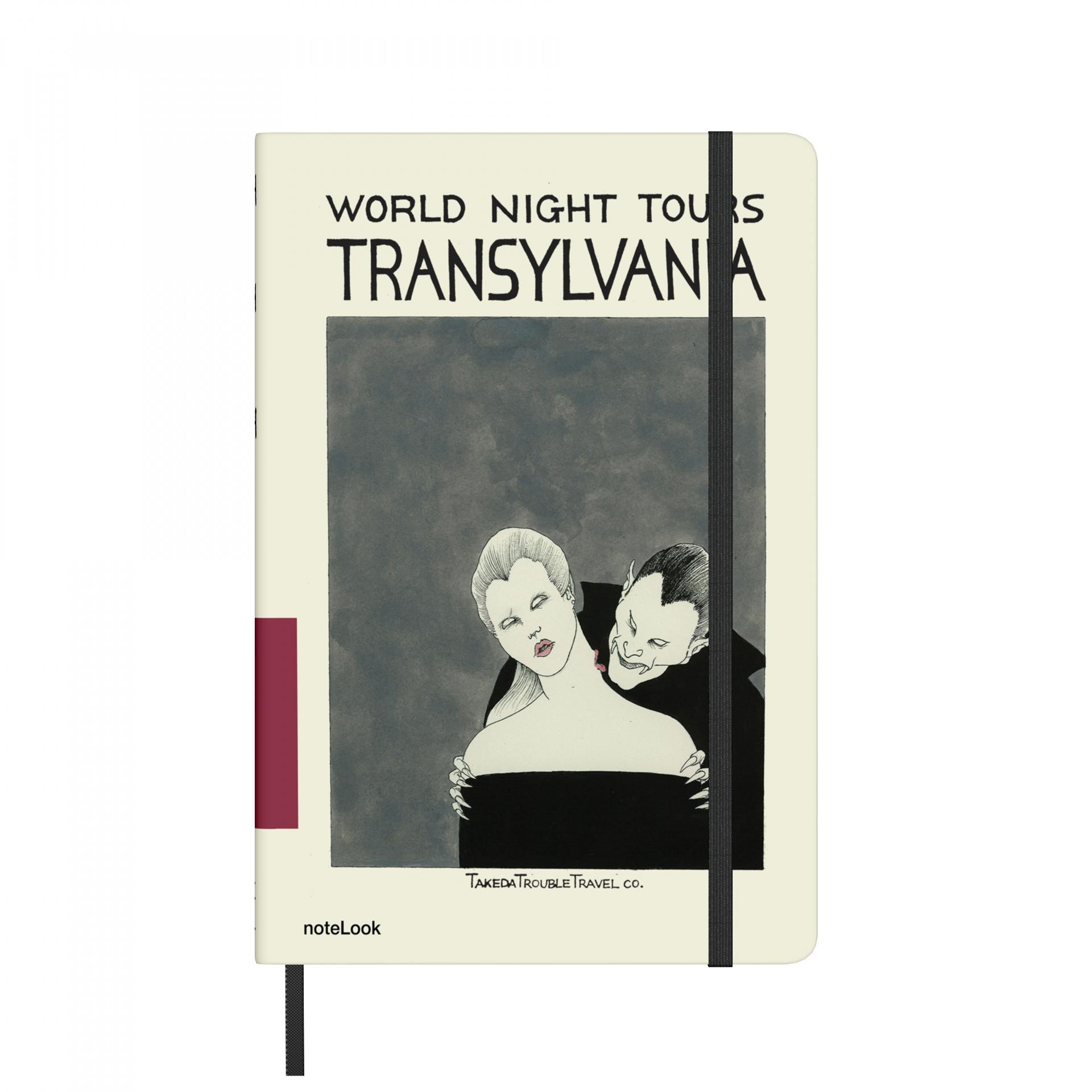 Бележник Scrikss Notelook Notebook  Takeda Transylvania Lined, модел 77211,  A5