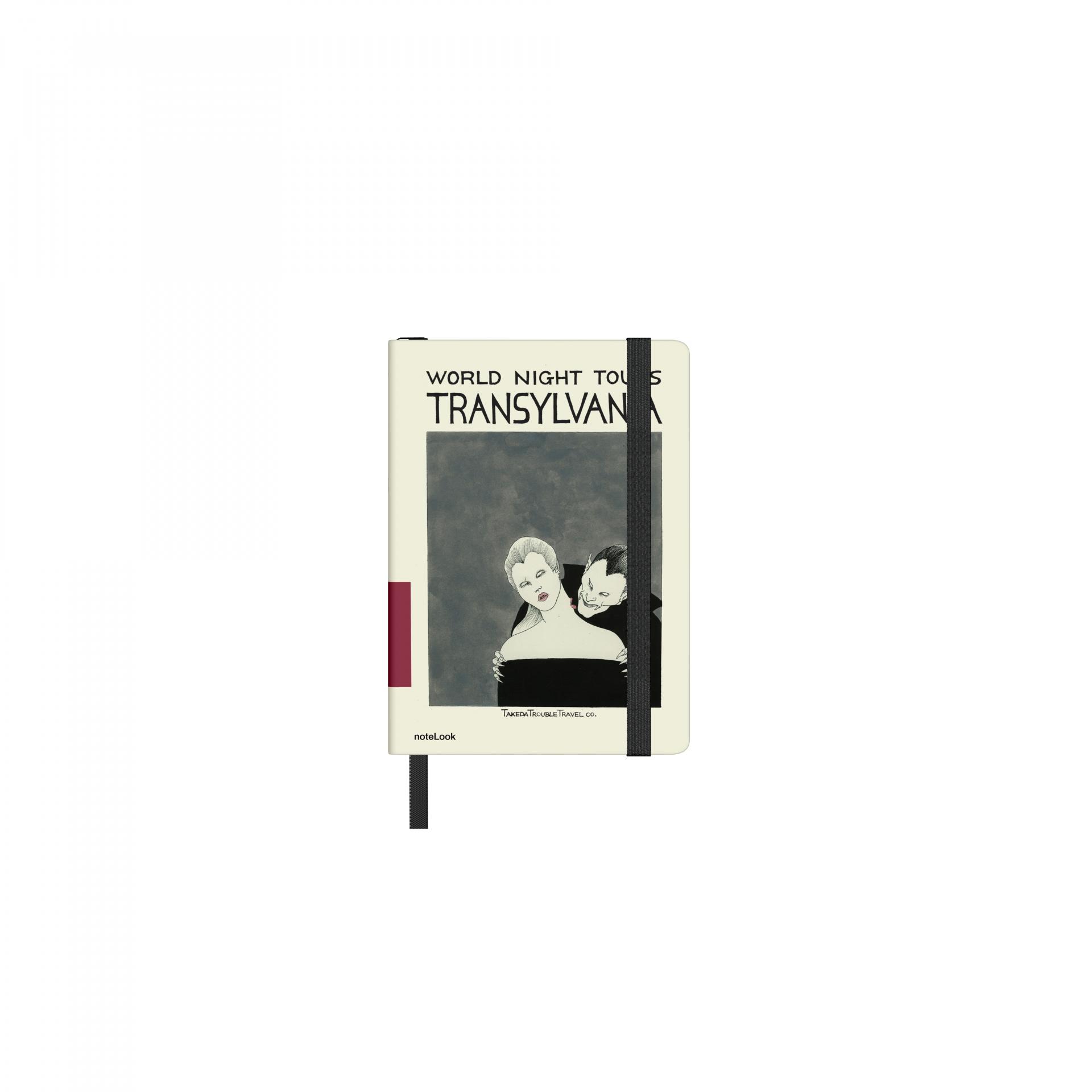 Бележник Scrikss Notelook Notebook  Takeda Transylvania Lined, модел 77372,  A7