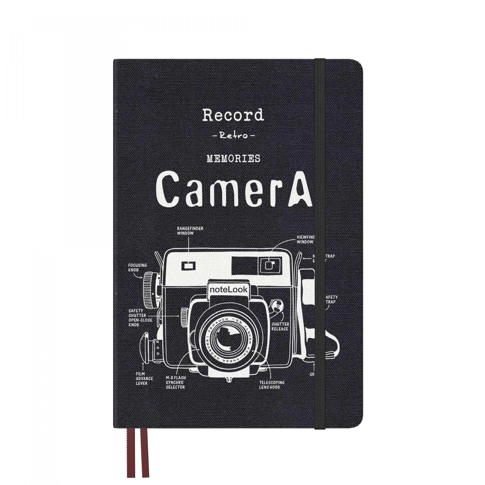 Бележник Scrikss Notelook Camera White, модел 73510, А5