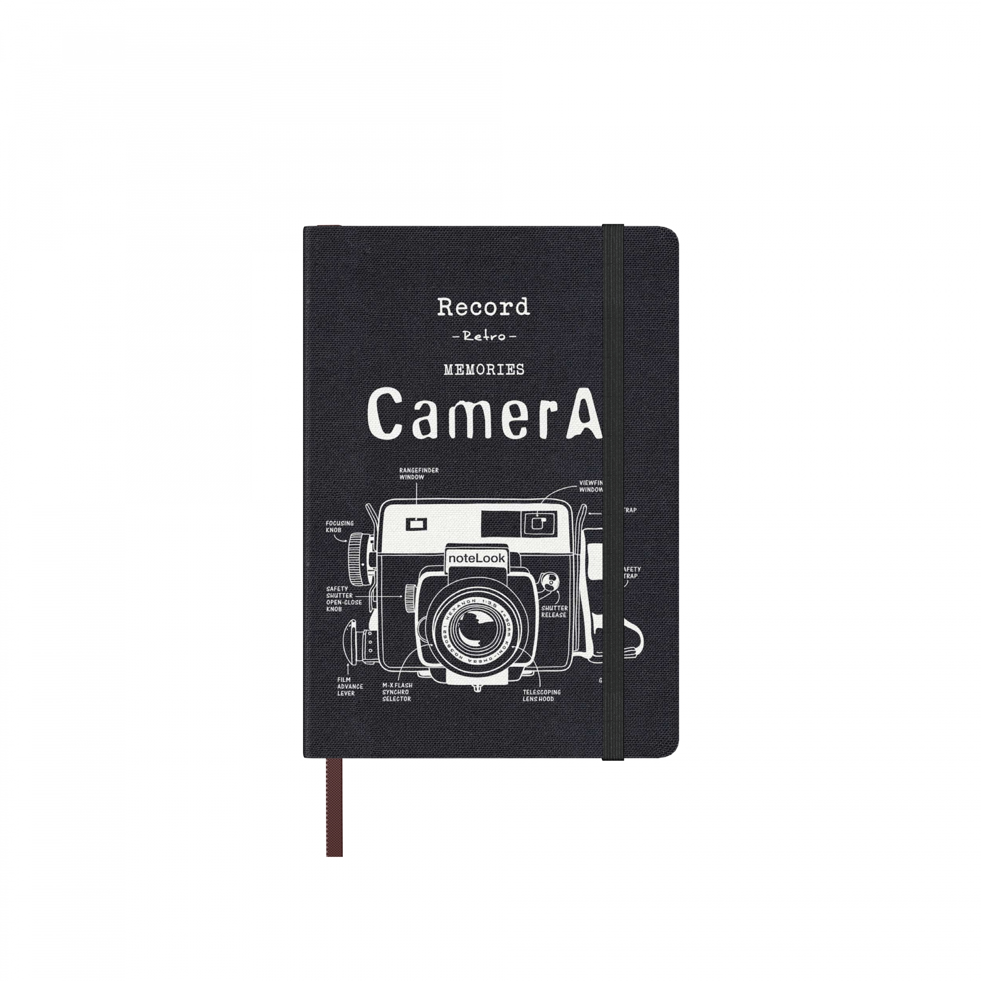 Бележник Scrikss Notelook Camera White, модел 73534, А6