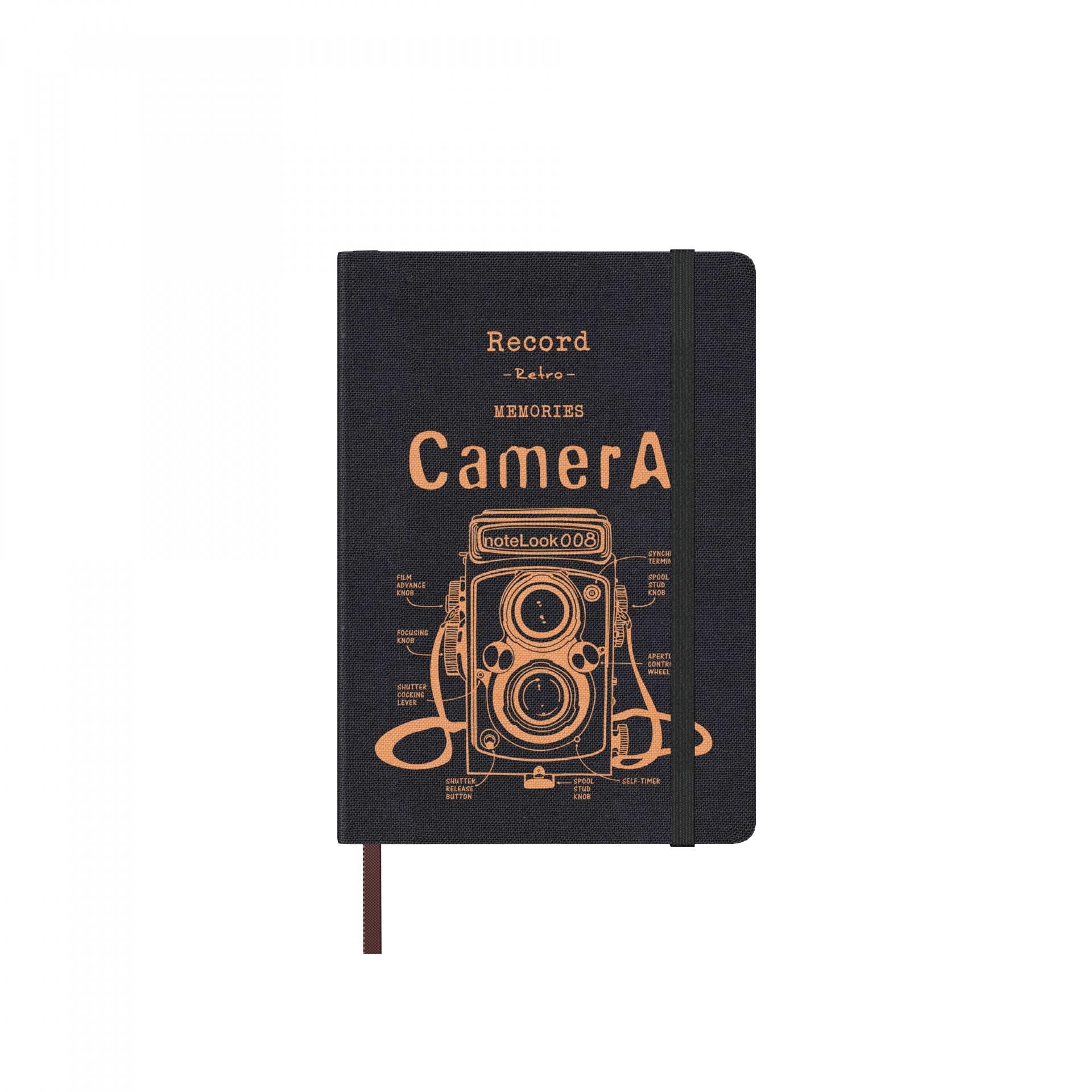 Бележник Scrikss Notelook Camera Yellow, модел 73503, А5