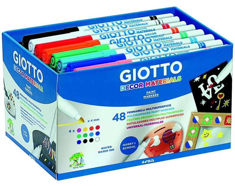 Флумастери Giotto Decor Materials 48 цвята