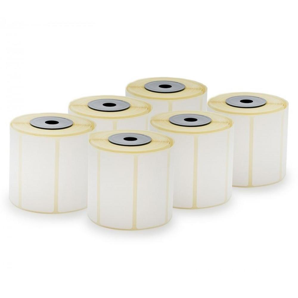 Ролка Етикети Термо за везни и принтери, THERMAL TOP, 56x25 mm, 6 ролки x 600 етикета