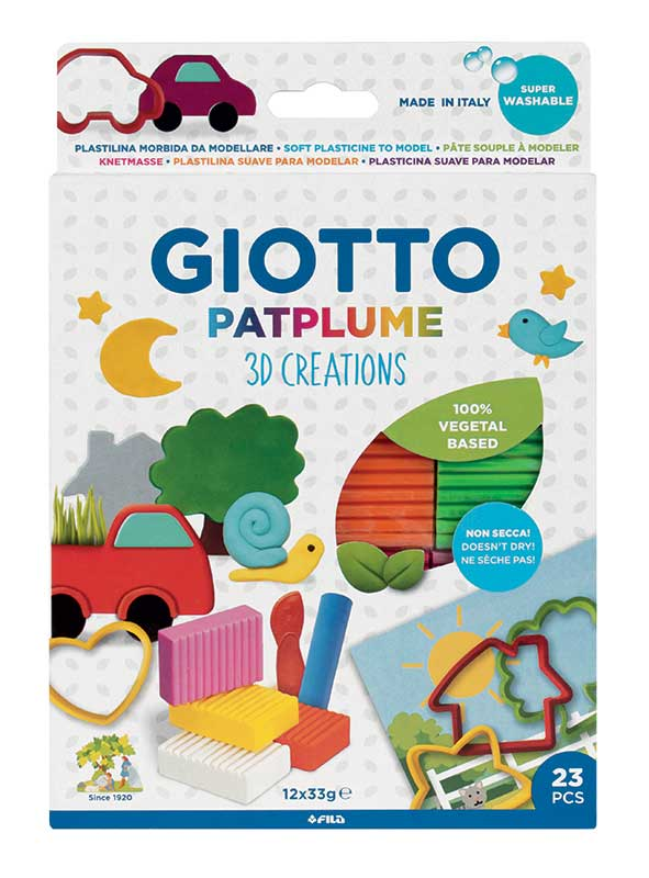 Комплект за моделиране GIOTTO PATPLUME 3D CREATIONS