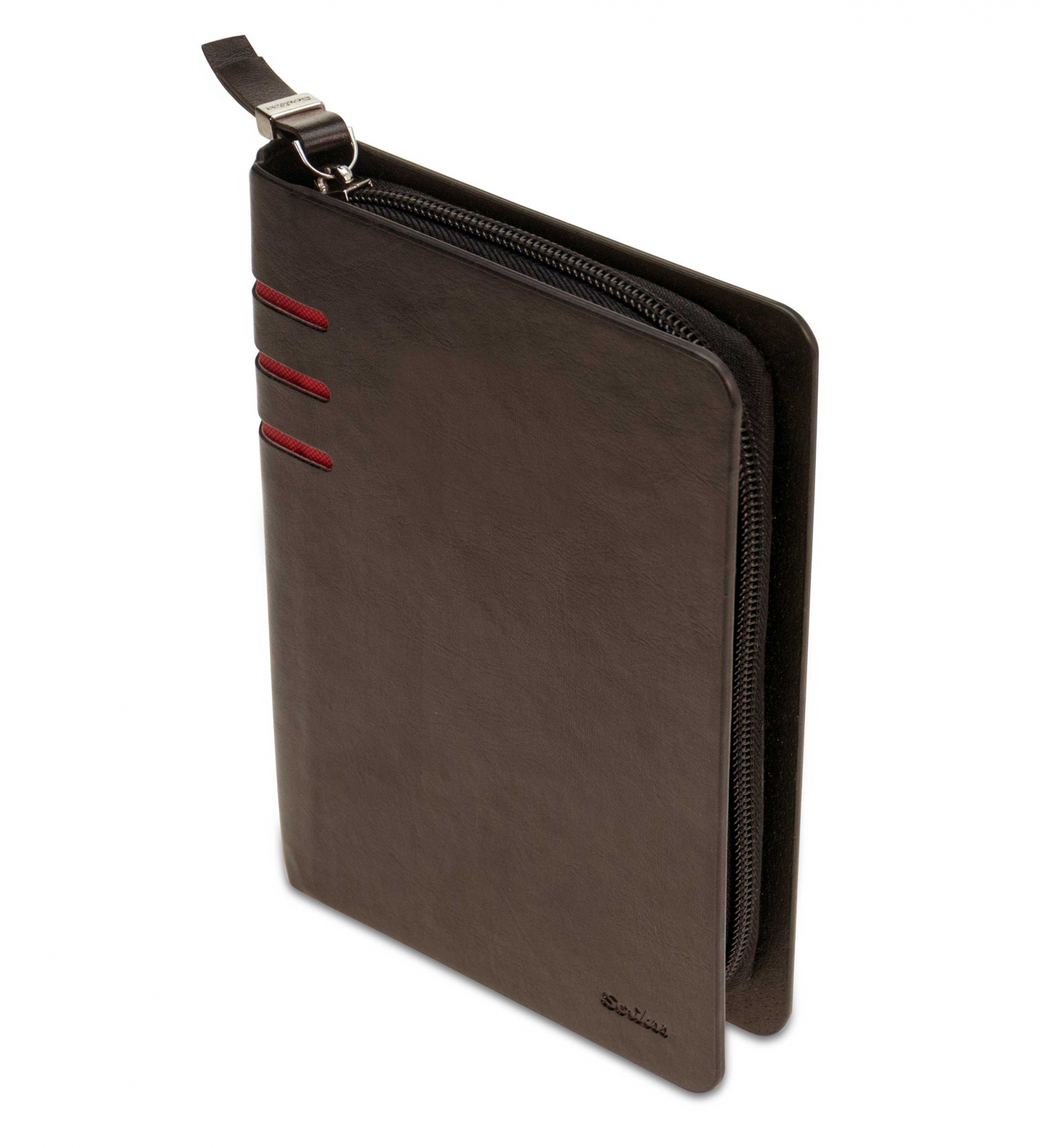 Папка/Бележник Scrikss Oxford Portfolio A5, модел 83830,  Кафява кожа