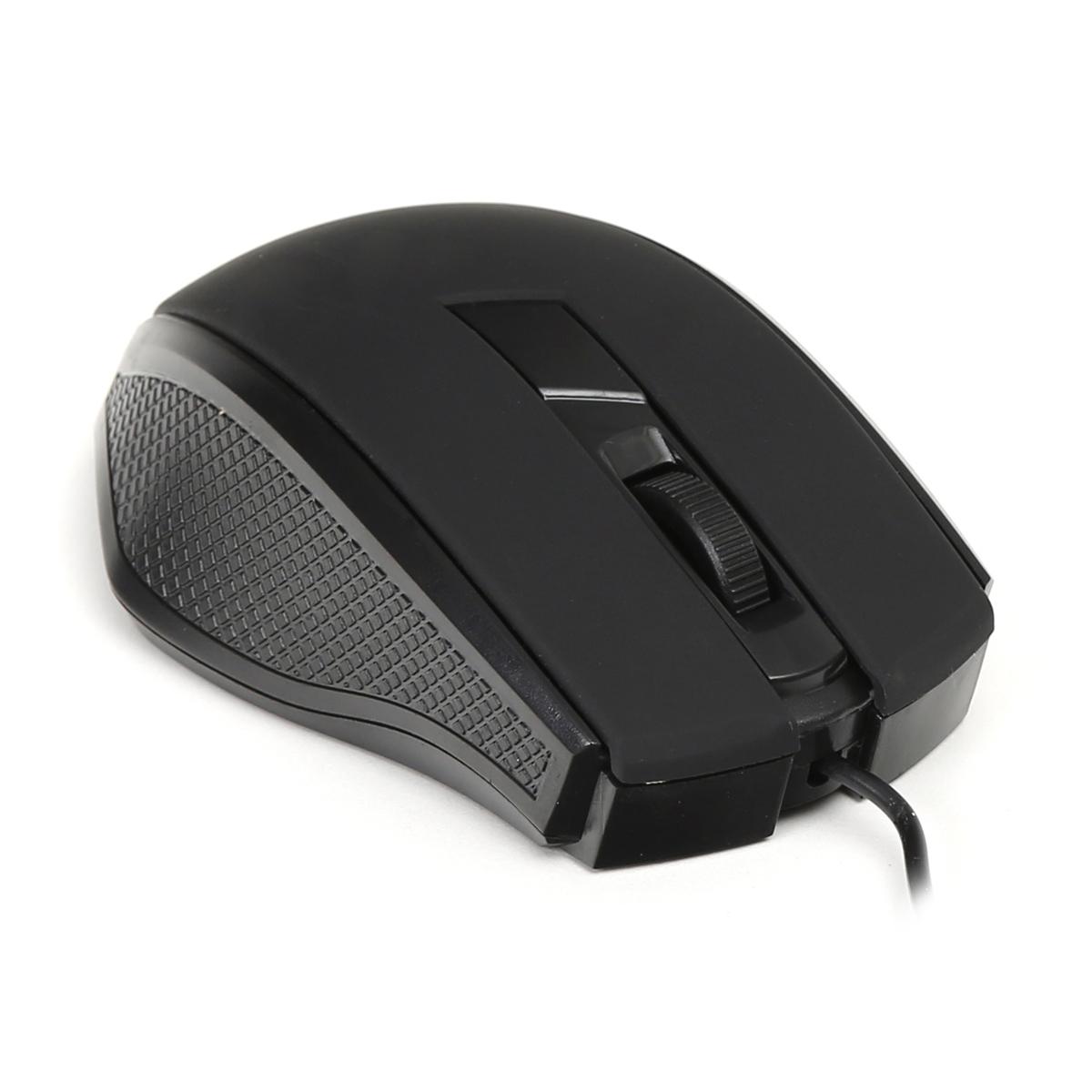 Мишка Omega OM-08 Оптична, Черна
