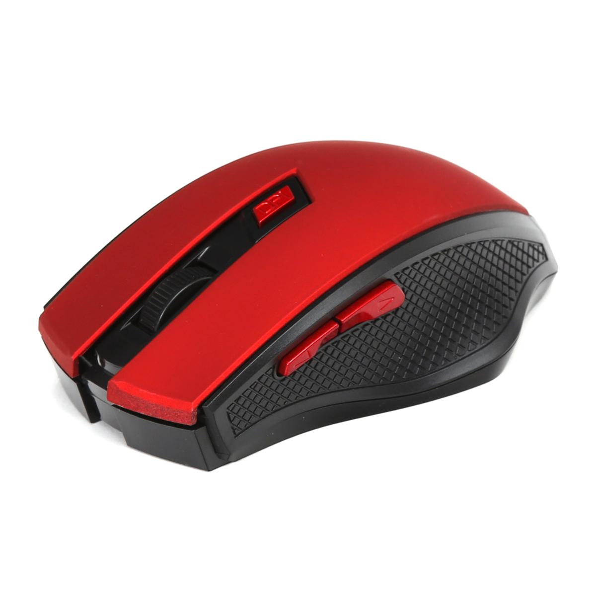 Безжична мишка Omega OM-08 1600DPI, Червена