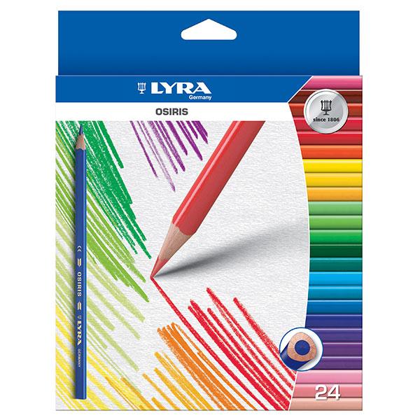 Цветни моливи Lyra Osiris 24 цвята