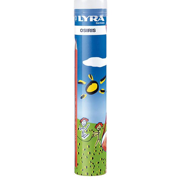 Цветни моливи Lyra Osiris метална туба 12 цвята