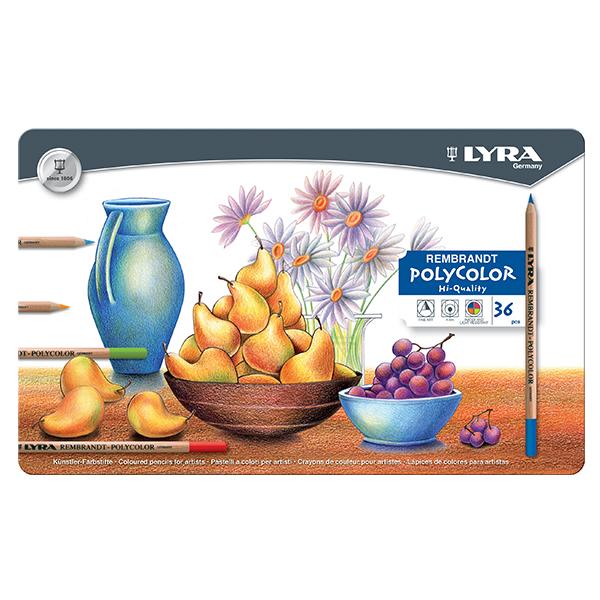 Цветни моливи Lyra Rembrandt Polycolor 36 цвята