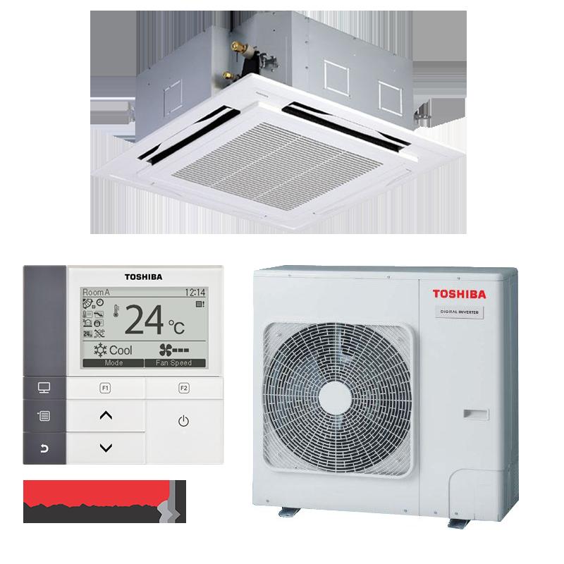 Касетъчен климатик Toshiba RAV-SM1404UTP-E / RAV-SM1404АTP-E