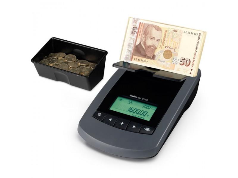 Банкното- и монетоброячна машина SAFESCAN 6155