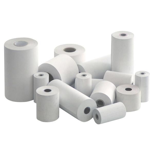 Ролка за касов апарат офсет хартия, 75мм.х25мм.  ф55