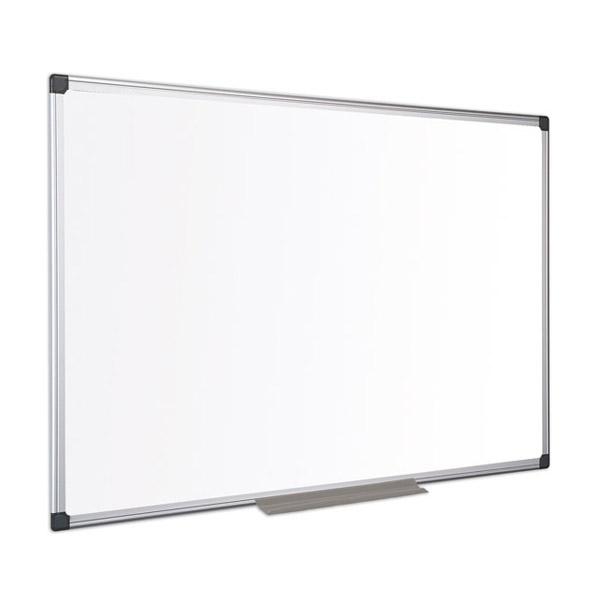 Бяла дъска Bi-Office немагнитна с алуминиева рамка 120х240см.