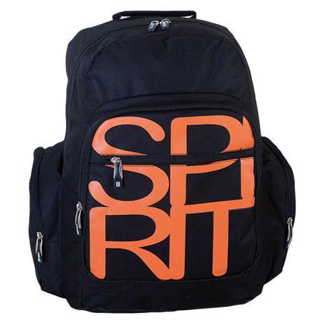 Ученическа раница Spirit-Черно/оранжево