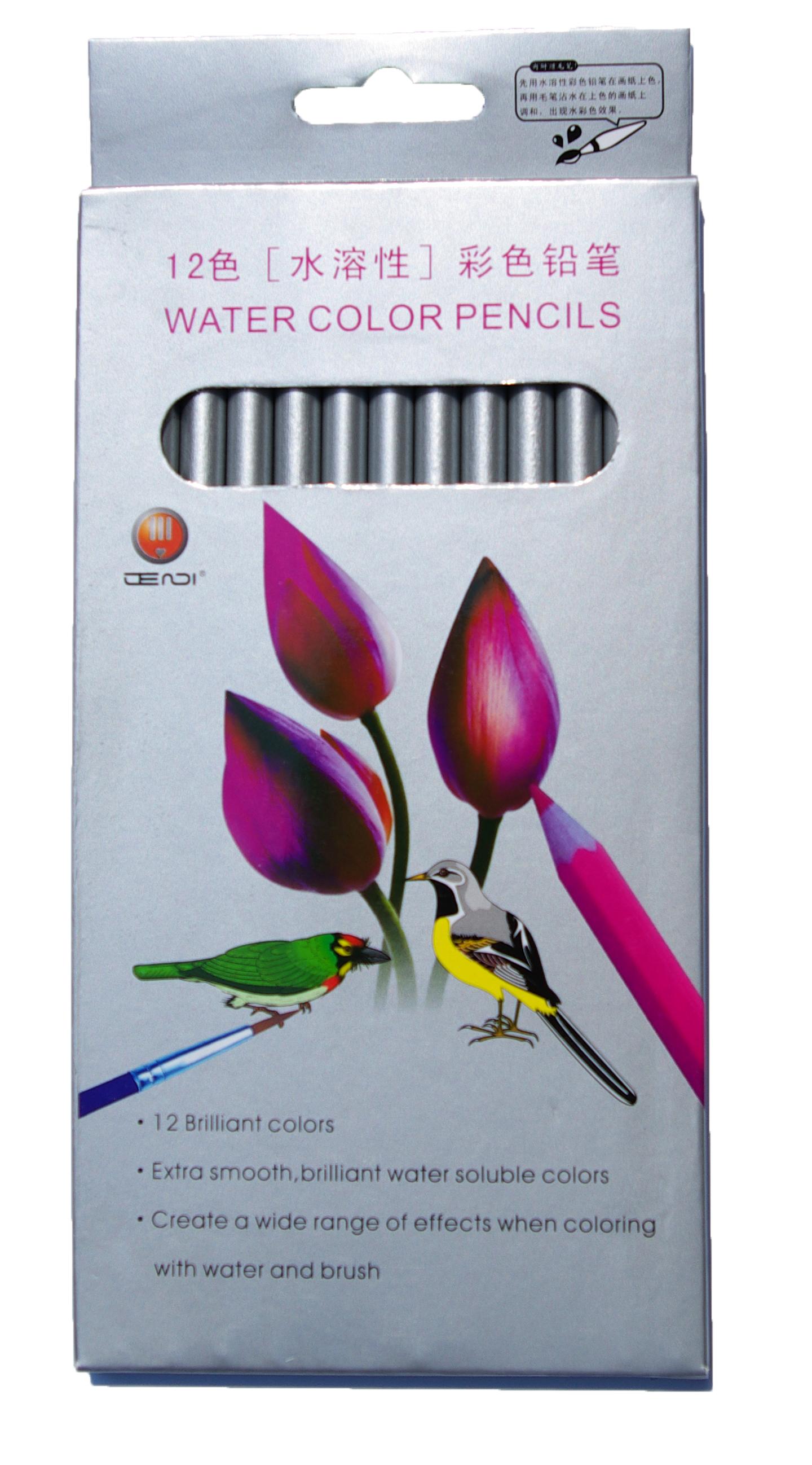 Акварелни моливи 12 цвята Economy