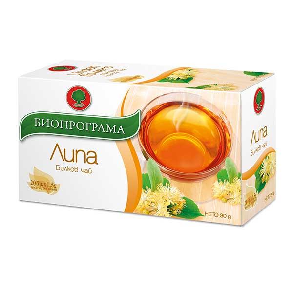 Чай Биопрограма Липов