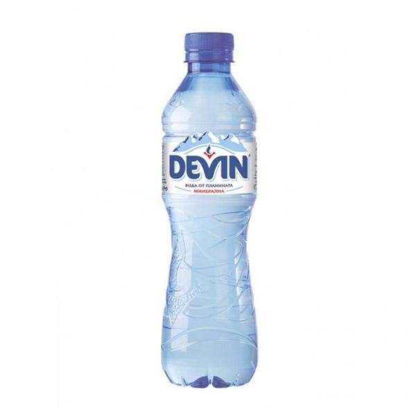 Вода Девин 0.5л. минерална, 12бр. в стек