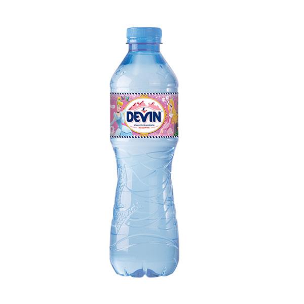 Вода Девин 0.5л., изворна, 12бр. в стек