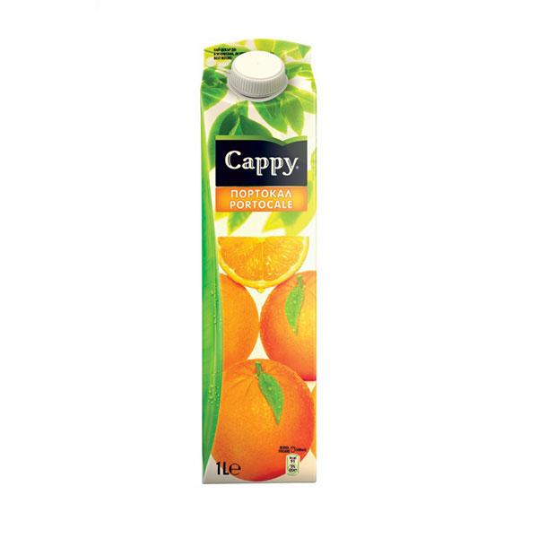 Сок Cappy Портокал 50% портокал, 1л.