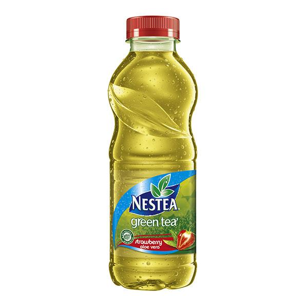 Студен чай Nestea Зелен чай и ягода