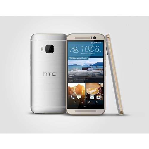 HTC One M9 Silver Aluminium body