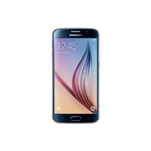 Smartphone Samsung SM-G920F GALAXY S6 Flat 32GB, Black Sapphire