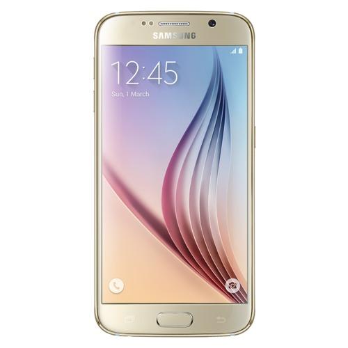 Smartphone Samsung SM-G920F GALAXY S6 Flat 32GB, Gold Platinum