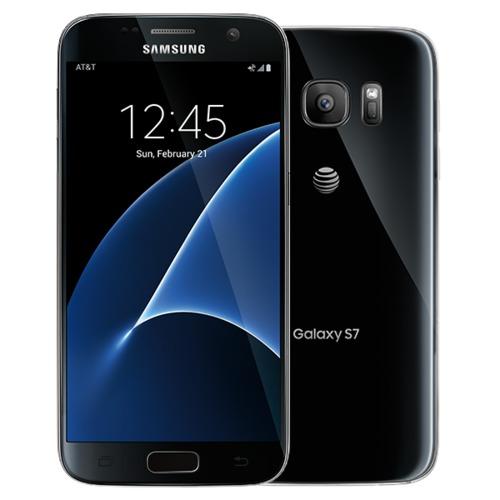 Smartphone Samsung SM-G930F GALAXY S7 Flat 32GB, Black Onyx
