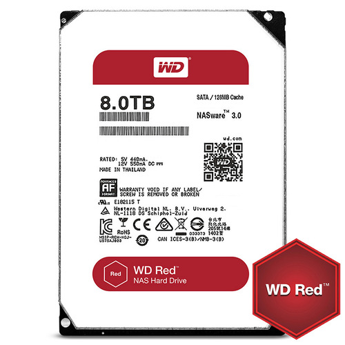 HDD 8TB SATAIII WD Red
