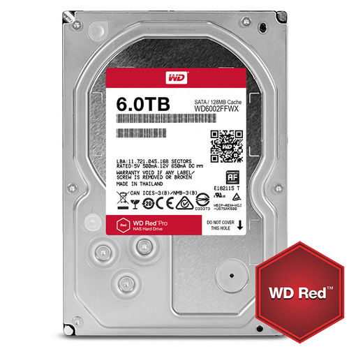 HDD 6TB SATAIII WD Red